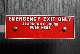 Emergency Exit Devices installation & repair Louisville, KY locksmiths